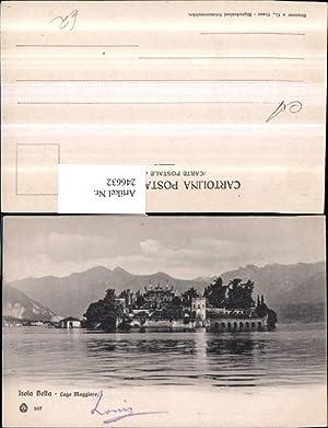 246632,Lago Maggiore Isola Bella Insel Totale
