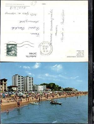 247401,Friuli-Venezia-Giulia Udine Lignano Sabbiadoro Spiaggia Strand Strandleben
