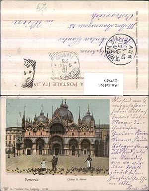 247740,Litho AK Veneto Venezia Venedig Chiesa S.