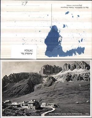 247824,Veneto Belluno Passo Pordoi Cima Pordoi Bergkulisse
