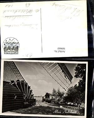169665,Foto Ak Windmühle Mooi Nederland