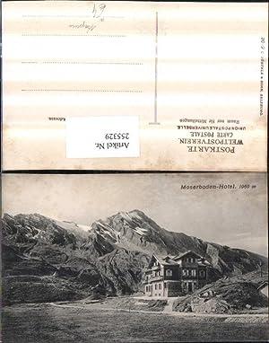255329,Moserboden-Hotel Mooserboden Bergkulisse b. Kaprun