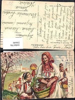 336640,Künstler Ak A. Maurovic Povratak sa blagoslova