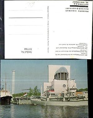 337760,Schiff Kriegsschiff Marine Das Entlüftungsgebäude der Maastunnel