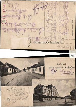 Gruss aus Groß Hausdorf (Haugsdorf) Großhausdorf Poysdorf