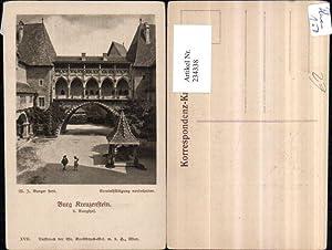 234338,Burg Kreuzenstein b. Korneuburg Burghof