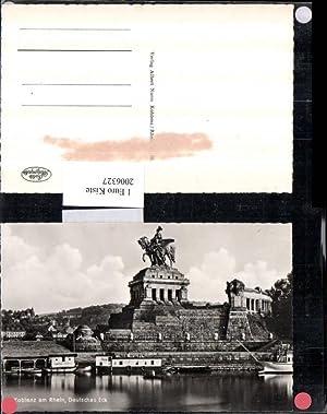 2006327,Koblenz a. Rhein Deutsches Eck m. Denkmal