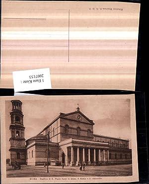 2007153,Roma Rom Basilica di S. Paolo fuori