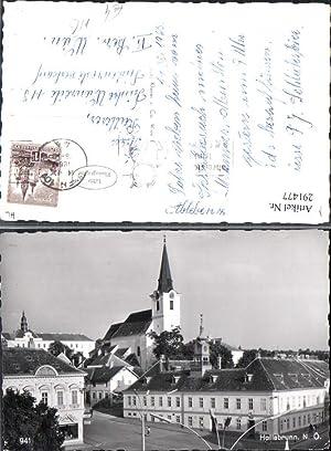291477,Hollabrunn Teilansicht Kirche Rathaus