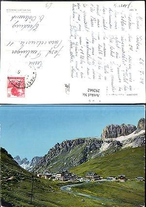 292662,Veneto Belluno Passo Pordoi Bergkulisse b. Livinallongo