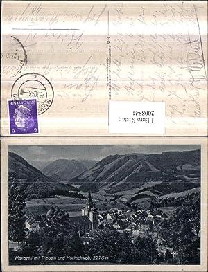 2008841,Mariazell Totale m. Triebein u. Hochschwab Bergkulisse