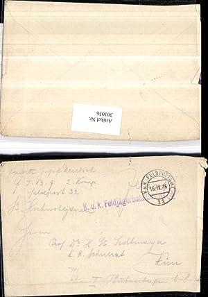 301036,K.k. Feldpost 32 Feldjägerbataillon 9 2. Kompagnie