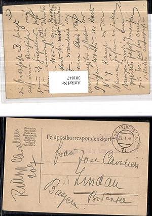 301847,K.k. Feldpost 71 Reitende Tiroler Landesschützen Division