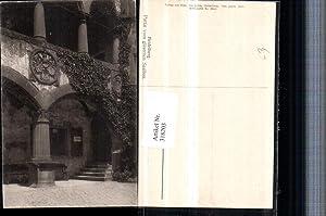 318203,Heidelberg Partie vom gläsernen Saalbau Säulen