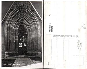 253031,Graz Leechkirche Kirche Portal Poster Fahnenweihe