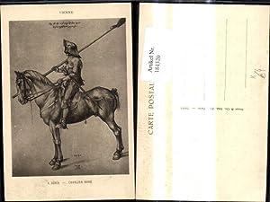 184320,Künstler Ak A. Dürer Cavalier Arme Pferd