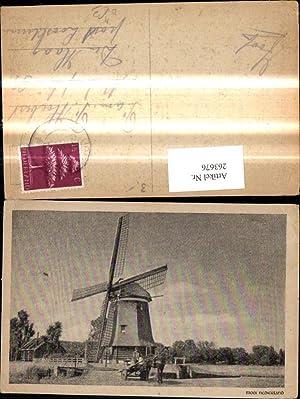 263676,Windmühle Mooi Nederland Kutsche Pferdewagen i. Vordergrund