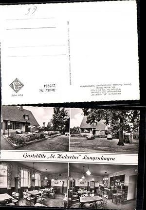 275784,Langenhagen b. Hannover Gaststätte St. Hubertus Mehrbildkarte
