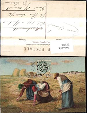265076,Künstler Ak J. Millet Les Glaneuses Frauen