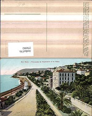 276582,Liguria Imperia San Remo Sanremo Promenade de