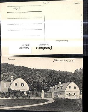 266286,Merkenstein Ansicht m. Forsthaus