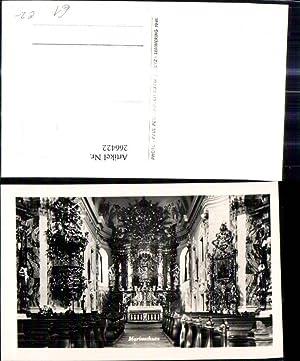 266422,Foto Ak Maria Schutz Mariaschutz Kirche Innenansicht