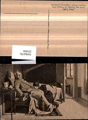 273329,Künstler AK Fritz Fleischer Mehr Licht Goethe