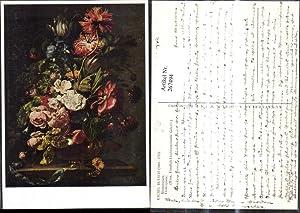 267494,Künstler Ak Rachel Ruysch Blumenstück Flowerpiece Blumen