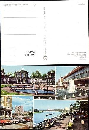 274934,Dresden Zwinger Kulturpalast Pirnaischen Platz Brühlsche Terrasse