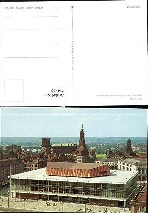 274935,Dresden Blick von d. Kreuzkirche zum Kulturpalast