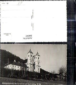 268247,Foto Ak Wallfahrtskirche Maria Schutz a. Semmering