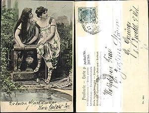 268766,Künstler Ak Fec. Ch. Scolik Frauen a.