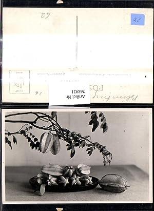 268921,Foto Ak Sternfrucht Karambole Früchte Obst