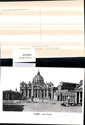 2008104,Roma Rom Vatikan San Pietro Petersdom Obelisk