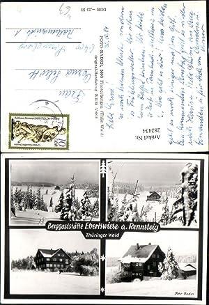282434,Berggaststätte Ebertswiese am Rennsteig b. Floh-Seligenthal Winterbilder