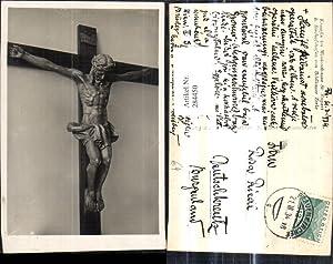 284450,Foto Ak Religion Jesuskreuz Kreuz Kreuzigung Kruzifix