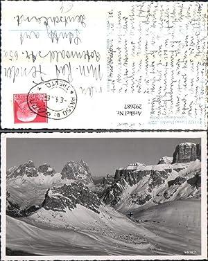 292687,Veneto Belluno Passo Pordoi Sassolungo e Sella