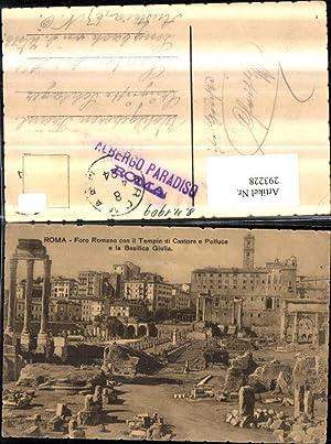 293228,Lazio Roma Rom Foro Romano con il