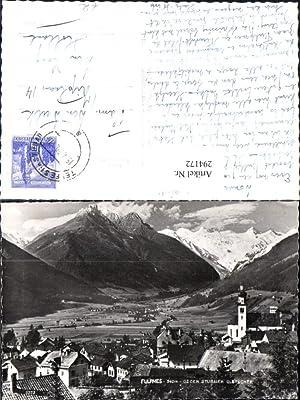 294172,Fulpmes Totale geg. Stubaier Gletscher Bergkulisse
