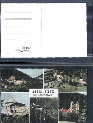 2008350,Maria Schutz am Semmering Totale Kirche Sessellift