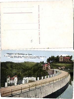51135,Talsperre bei Marklissa am Queis 1920
