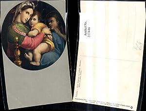 217446,Religion Künstler Ak Nach Raphael v. Unbekannten