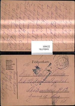 223605,K.k. Feldpost 409 Dragoner Regt 1-4 M.G.