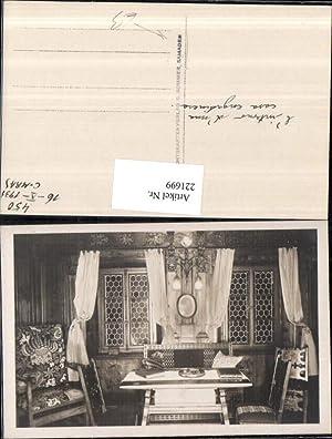 221699,Samaden Casa Engadinese Engadiner Haus Innenansicht