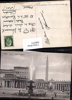 2002771,Roma Rom Piazza San Pietro e Vaticano