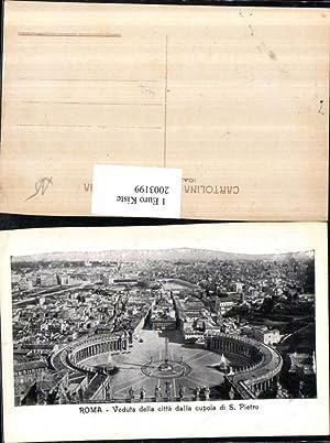 2003199,Roma Rom Veduta della citta dalla cupola