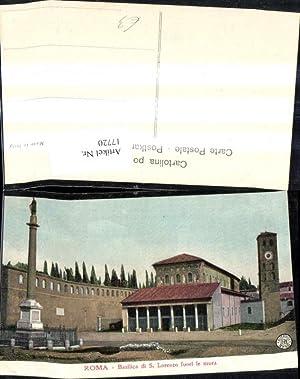 17720,Lazio Roma Basilica di S. Lorenzo fuori
