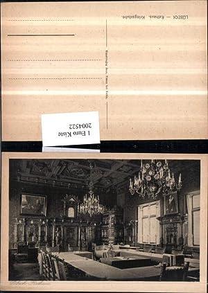 2004522,Lübeck Rathaus Kriegsstube Innenansicht