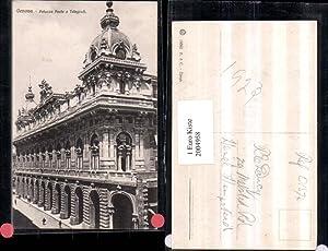 2004958,Genova Genau Palazzo Poste e Telegrafi Postamt