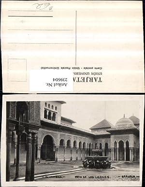 239604,Granada Alhambra Patio de Los Leones Kloster